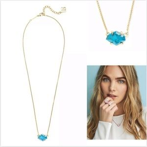 Kendra Scott's 'Ethan' faceted necklace JA01
